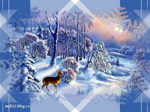 Zimní obrázky 116